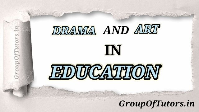 Drama and Art in Education File